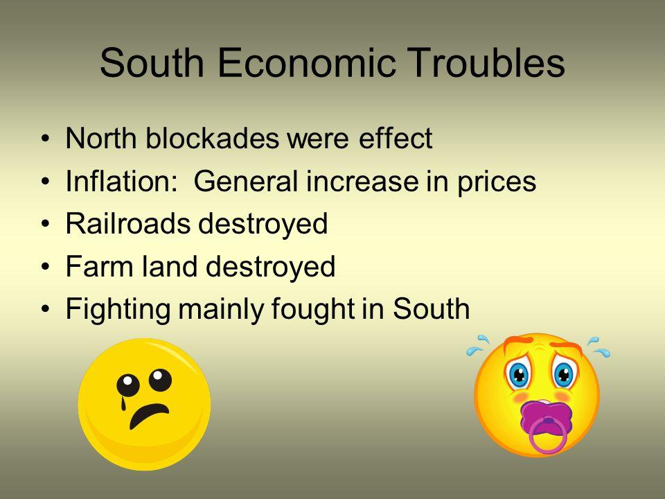 South Economic Troubles