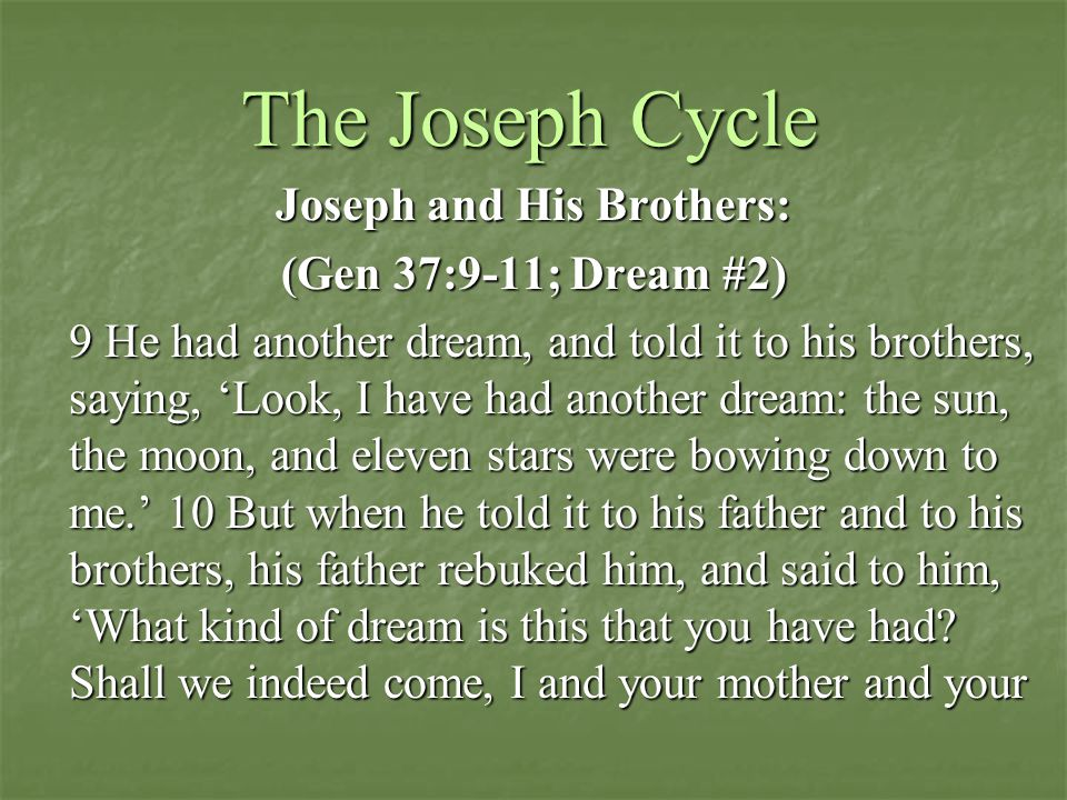 Joseph and His Brothers: