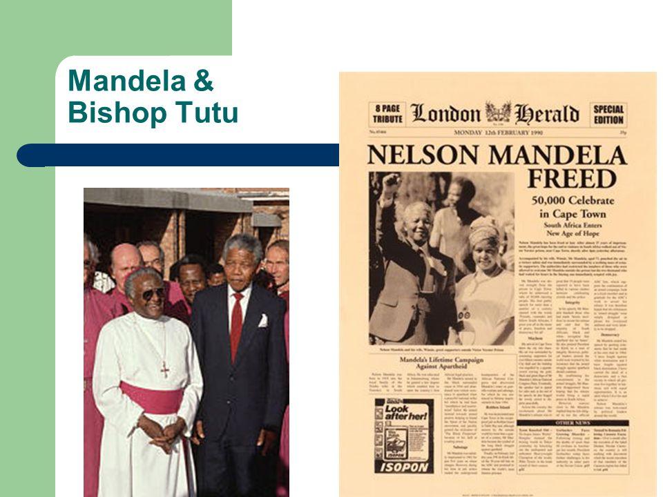 Mandela & Bishop Tutu