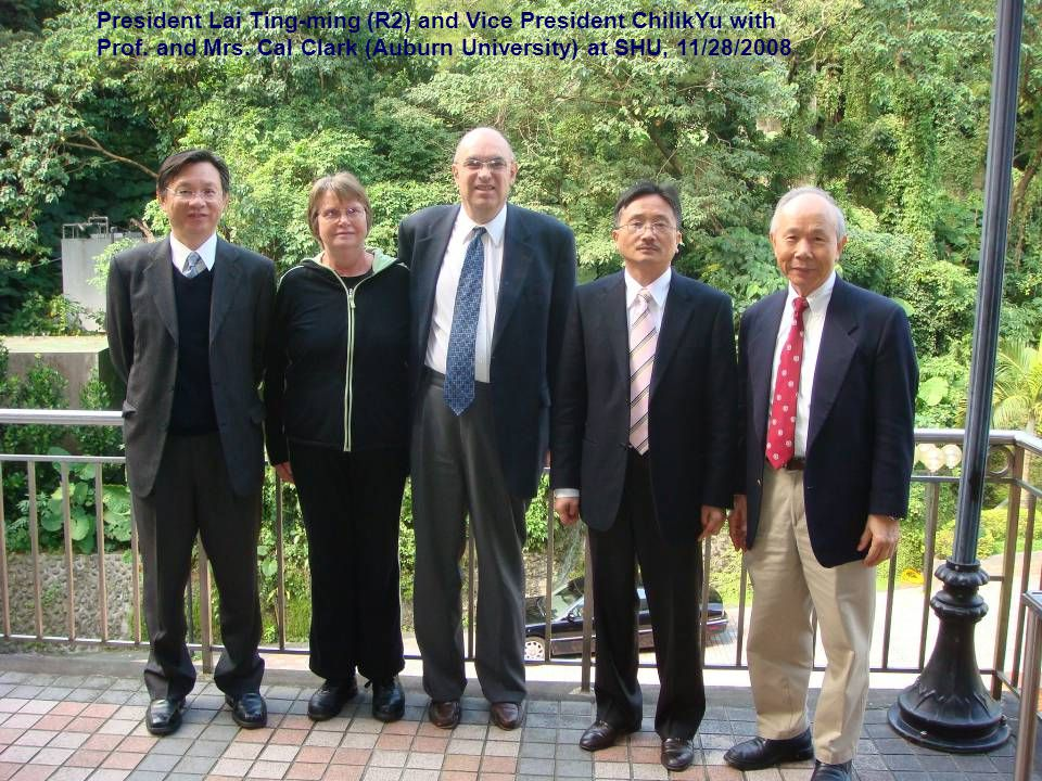President Lai Ting-ming (R2) and Vice President ChilikYu with