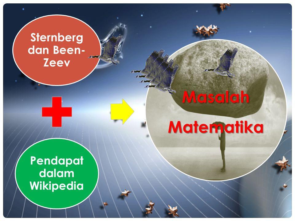 Sternberg dan Been-Zeev Pendapat dalam Wikipedia