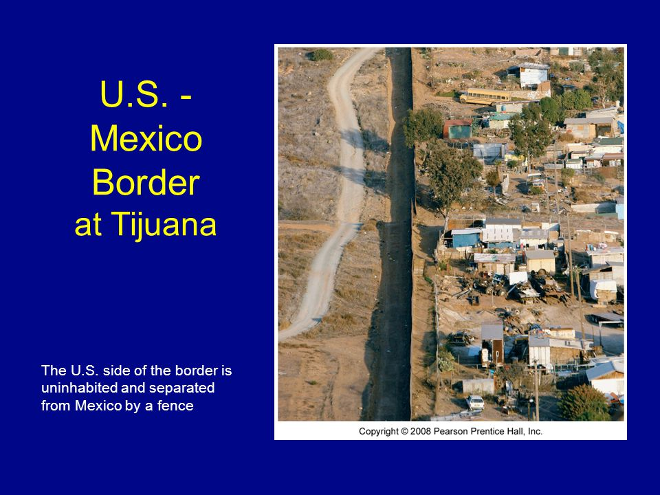 U.S. - Mexico Border at Tijuana