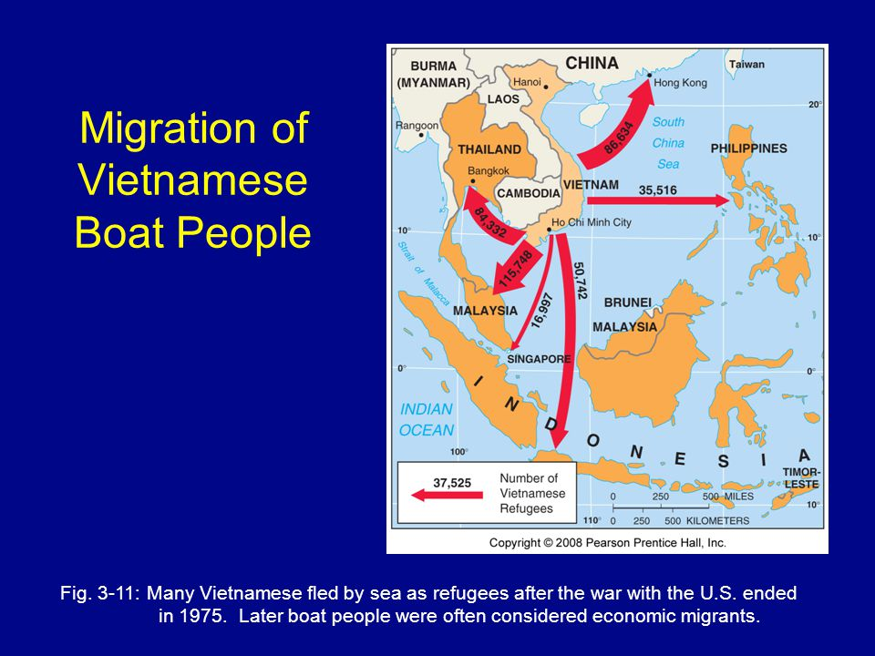 Migration of Vietnamese Boat People