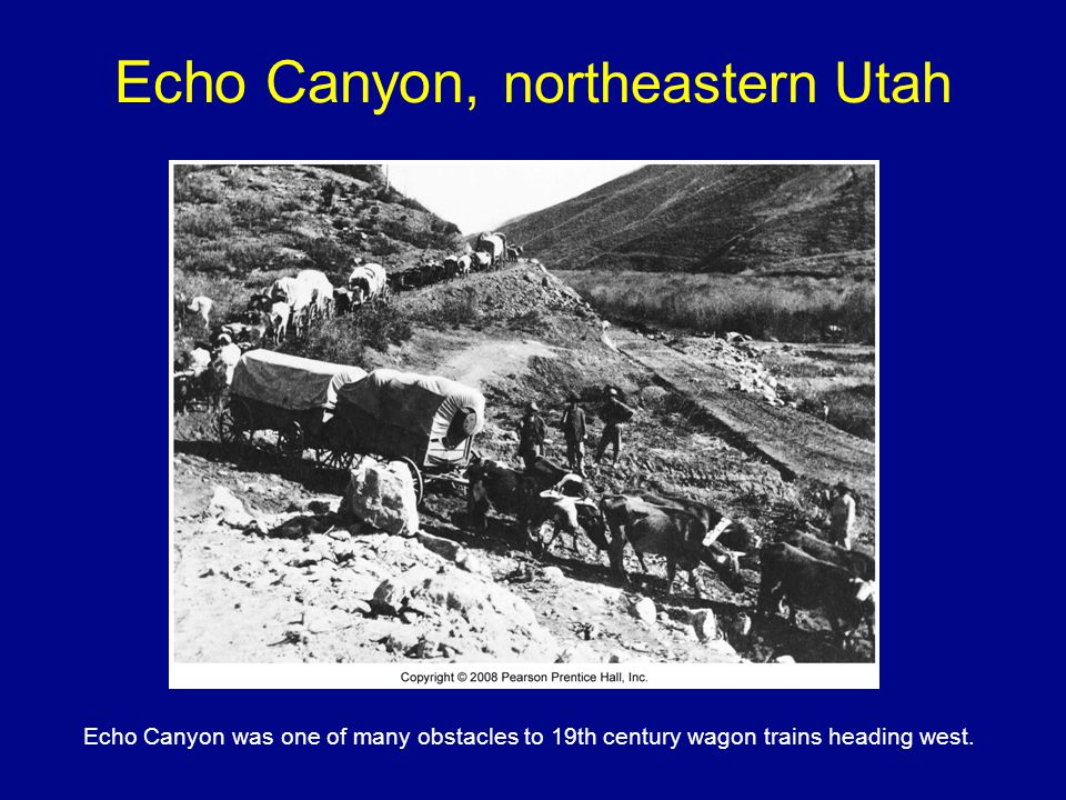 Echo Canyon, northeastern Utah