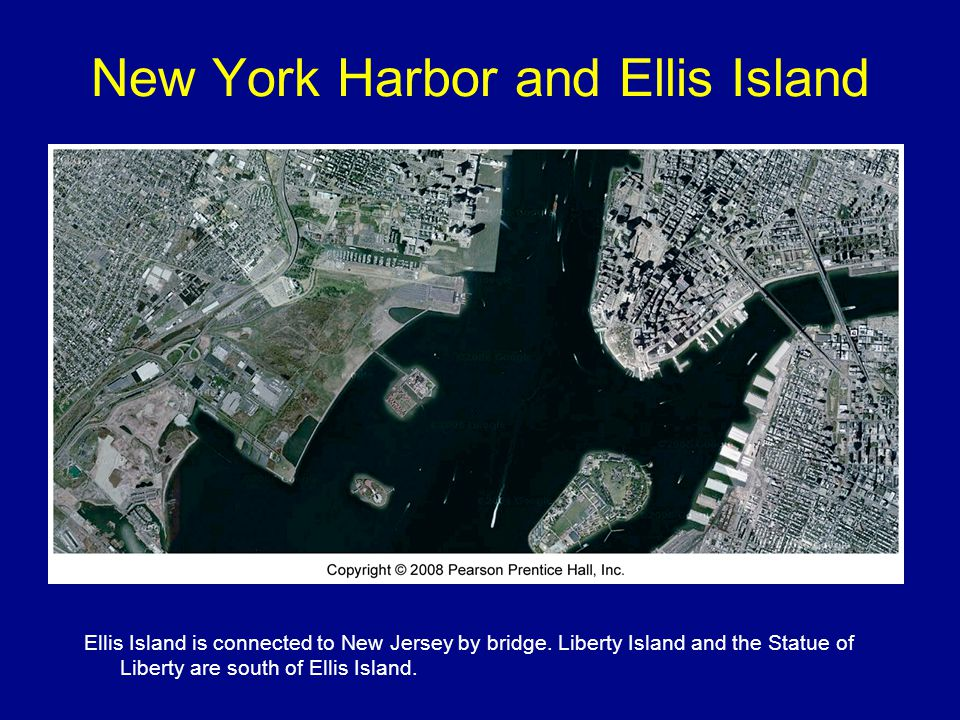 New York Harbor and Ellis Island