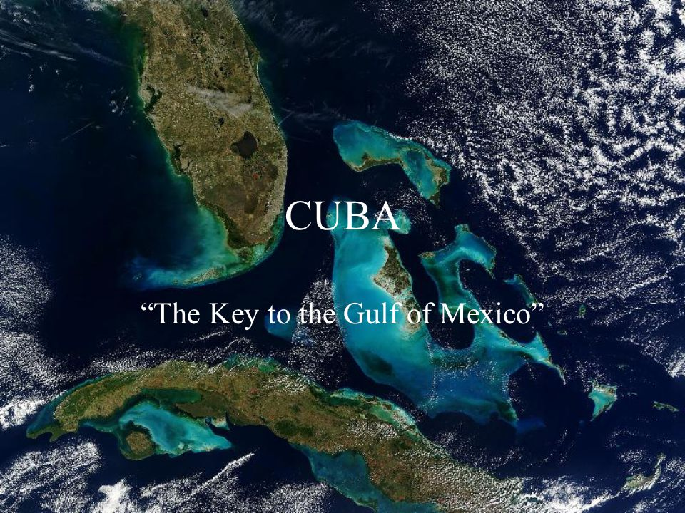 The Key to the Gulf of Mexico