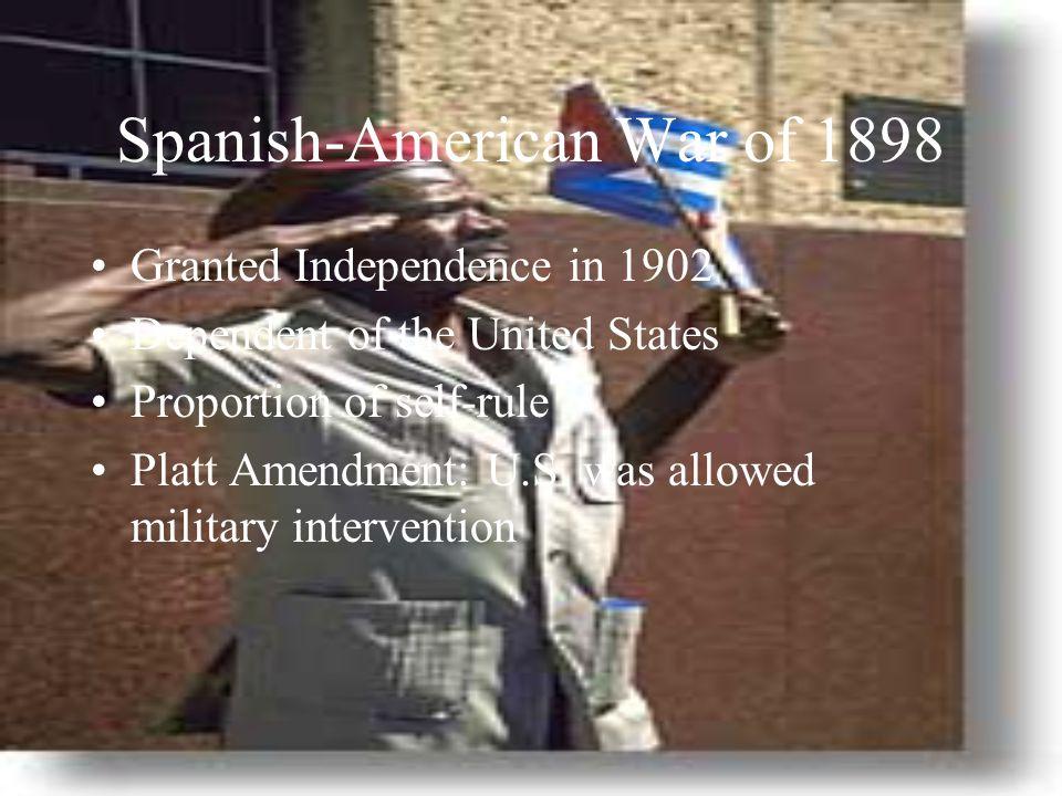 Spanish-American War of 1898