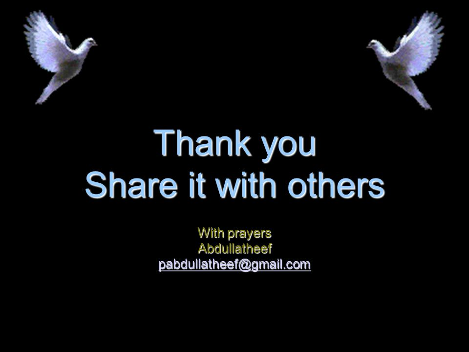 Thank you Share it with others