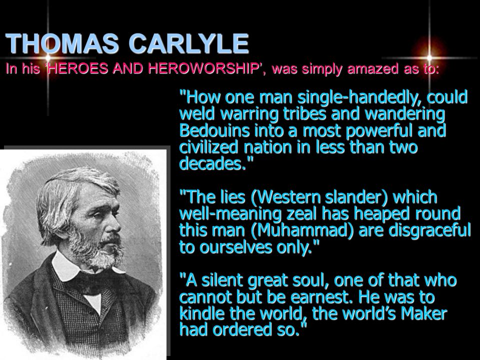 THOMAS CARLYLE In his 'HEROES AND HEROWORSHIP', was simply amazed as to: