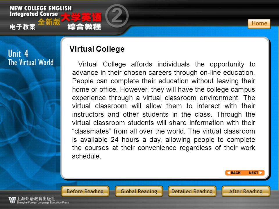 BR3.31 Virtual College.