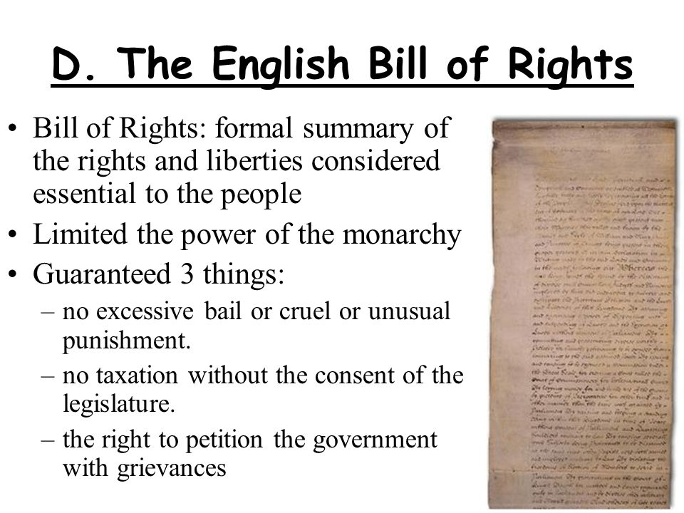 fra the bill of rights and Bill of rights: primary documents of american history (virtual services and programs, digital reference section, library of congress).