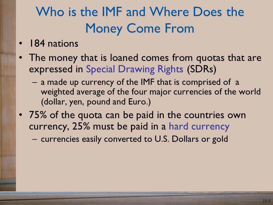 Who is the IMF and Where Does the Money Come From