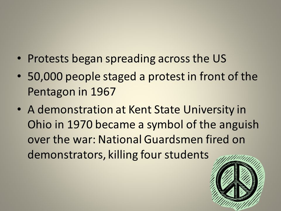 Protests began spreading across the US
