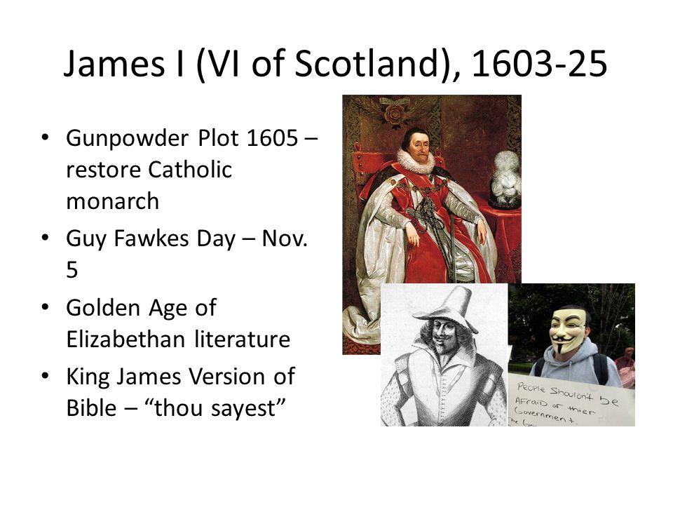 James I (VI of Scotland), 1603-25