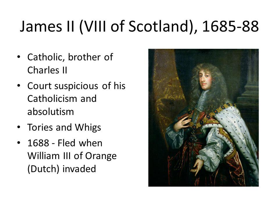 James II (VIII of Scotland), 1685-88