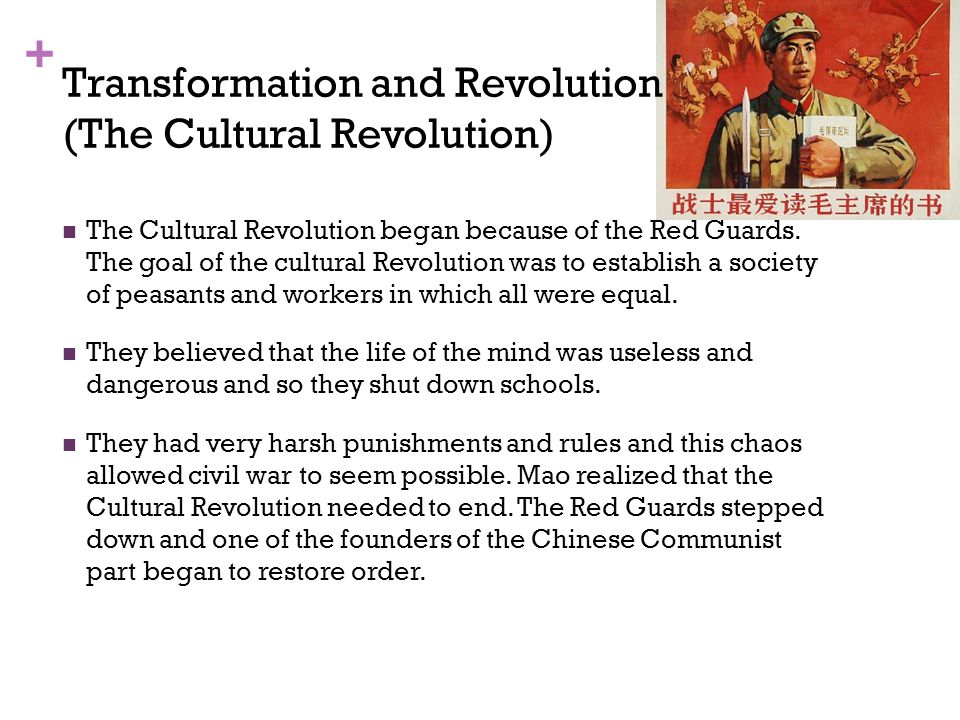 Transformation and Revolution (The Cultural Revolution)