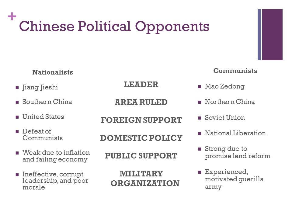 Chinese Political Opponents