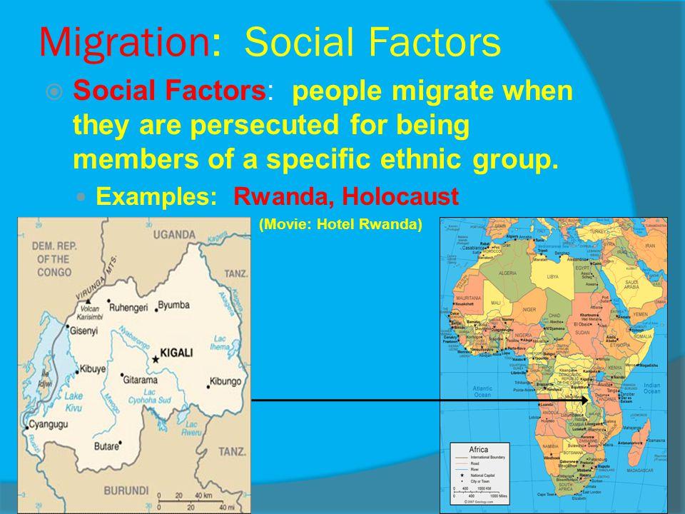 Migration: Social Factors