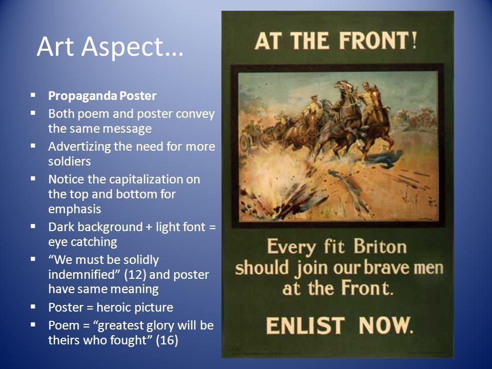 Art Aspect… Propaganda Poster