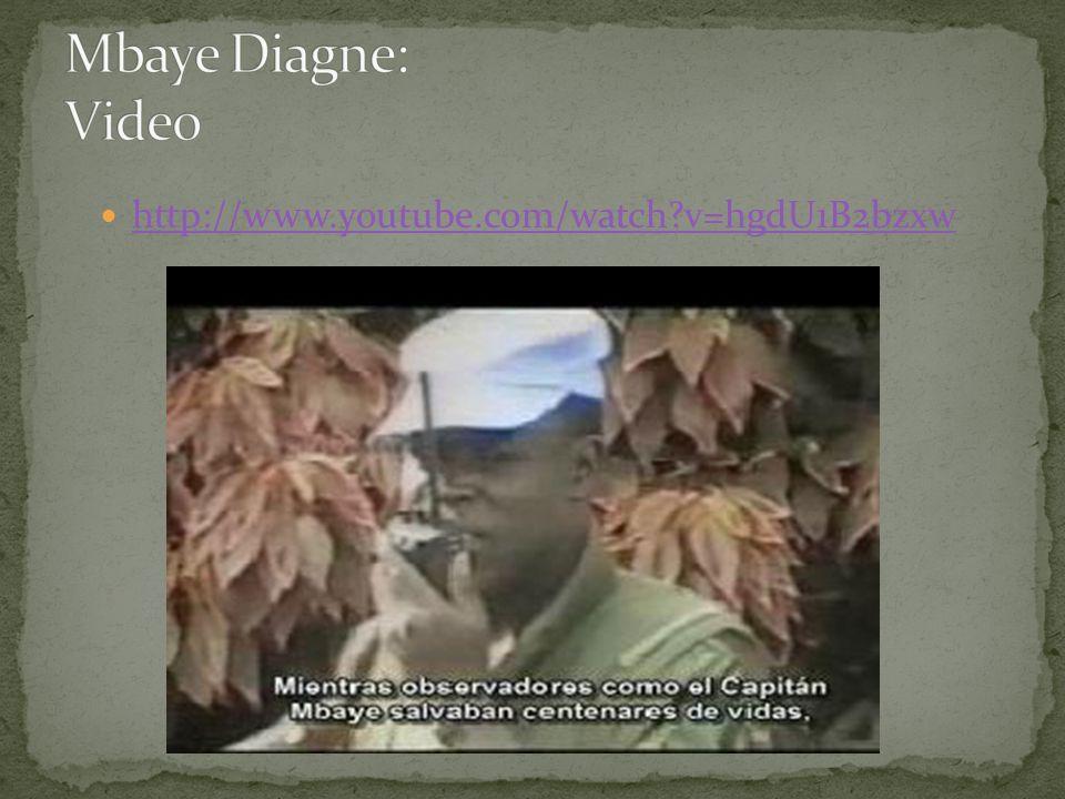 Mbaye Diagne: Video http://www.youtube.com/watch v=hgdU1B2bzxw