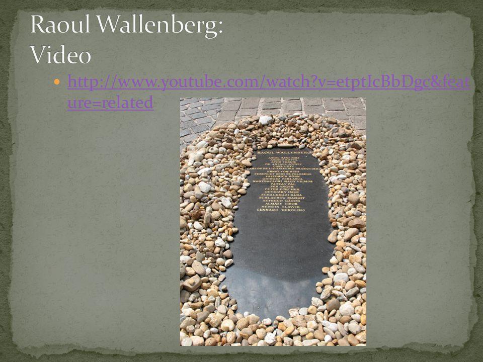 Raoul Wallenberg: Video