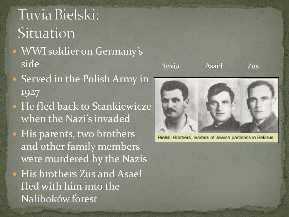 Tuvia Bielski: Situation