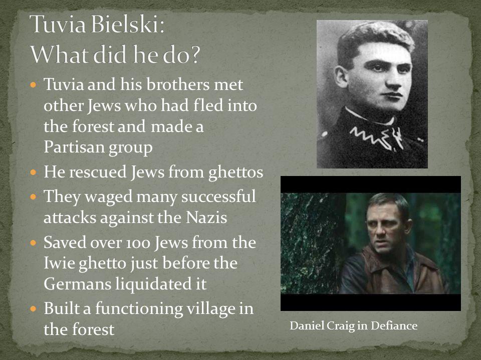 Tuvia Bielski: What did he do