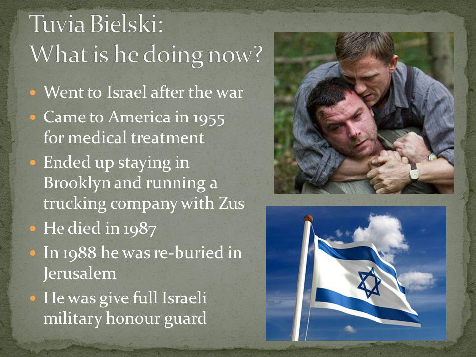 Tuvia Bielski: What is he doing now