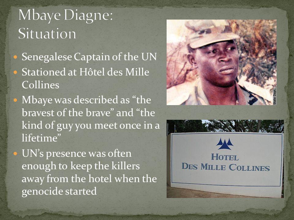 Mbaye Diagne: Situation