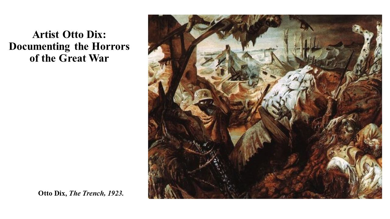 Artist Otto Dix: Documenting the Horrors of the Great War