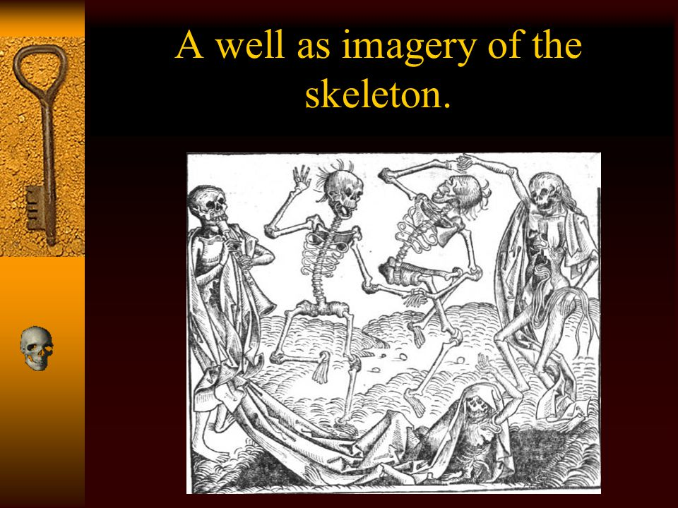 A well as imagery of the skeleton.