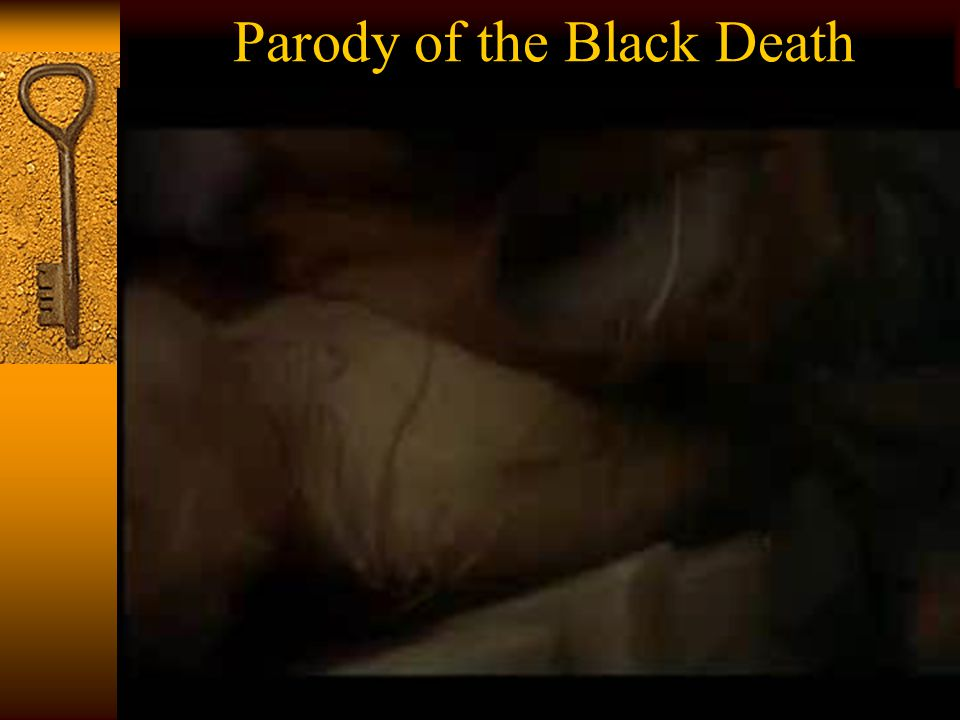 Parody of the Black Death