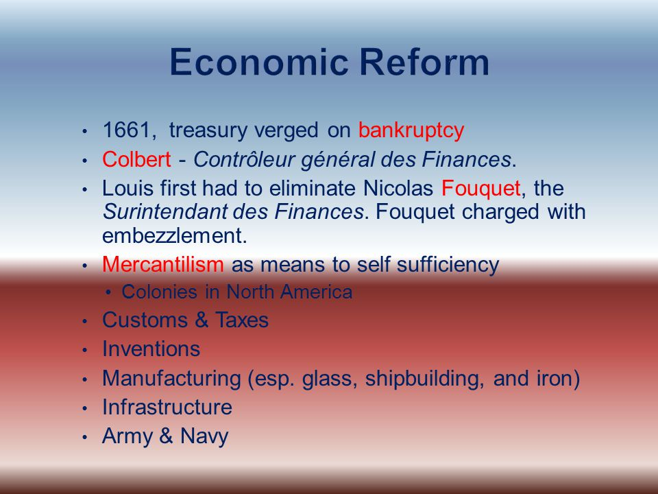 Economic Reform 1661, treasury verged on bankruptcy