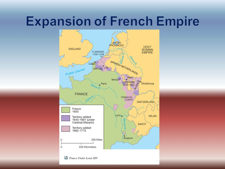 Expansion of French Empire