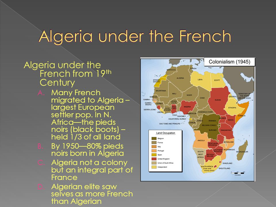 Algeria under the French