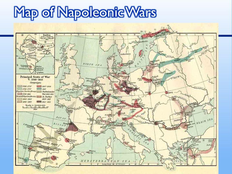 Map of Napoleonic Wars