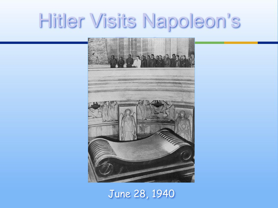 Hitler Visits Napoleon's Tomb