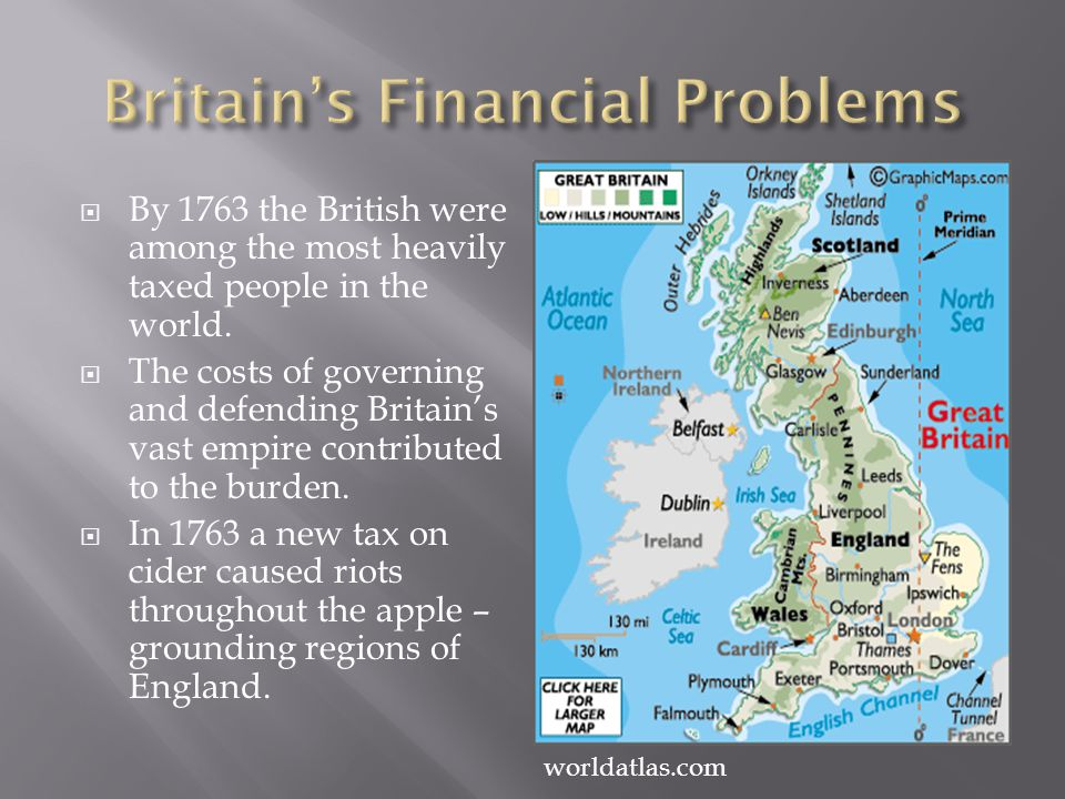 Britain's Financial Problems