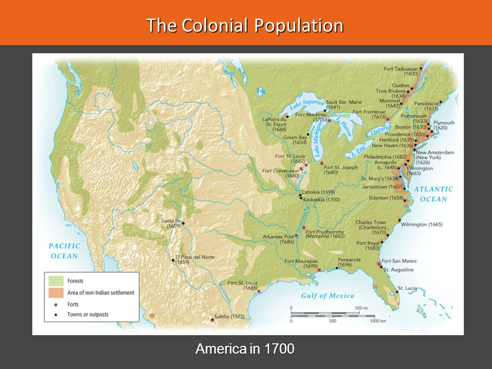 The Colonial Population