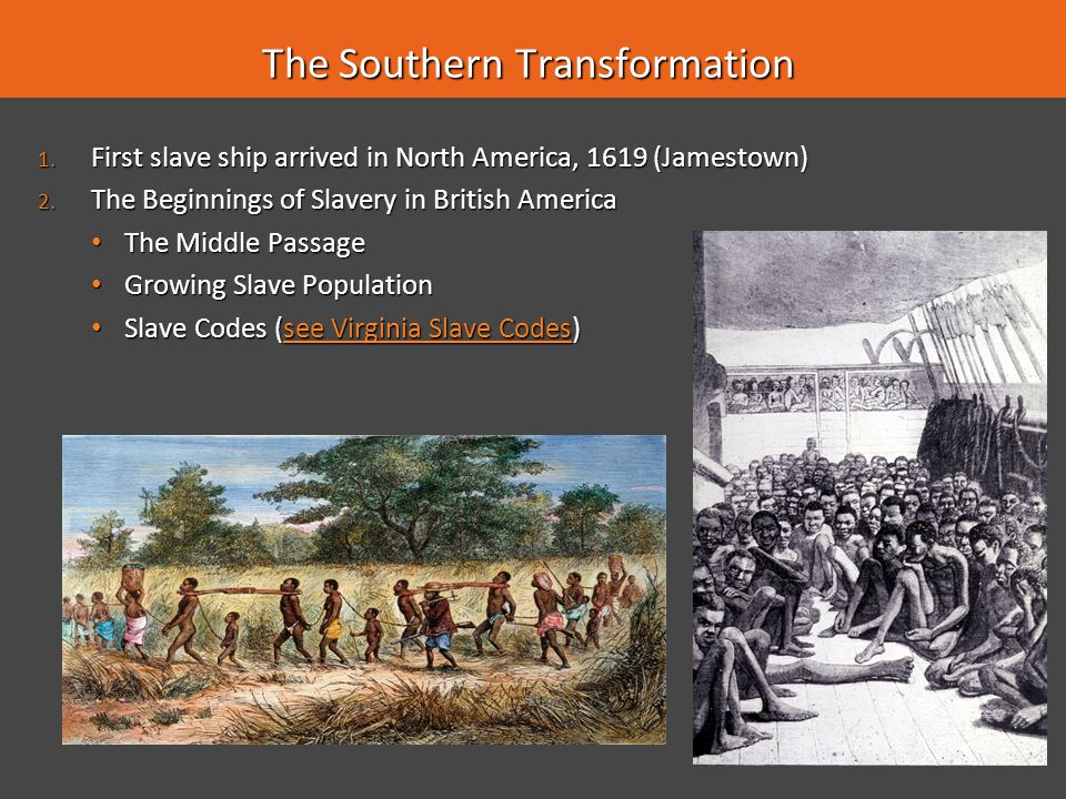 The Southern Transformation