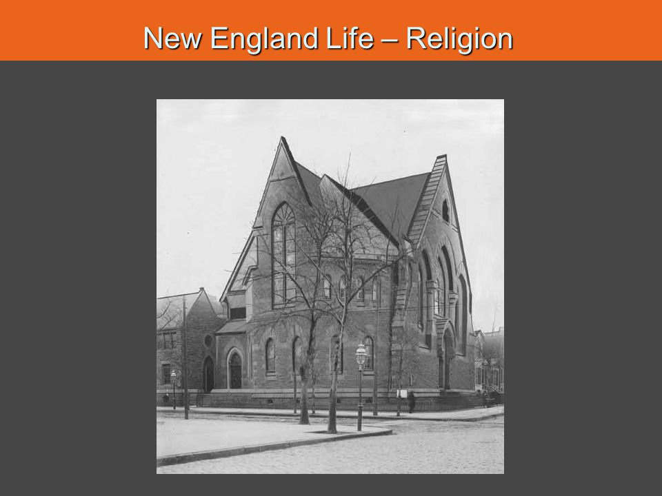 New England Life – Religion