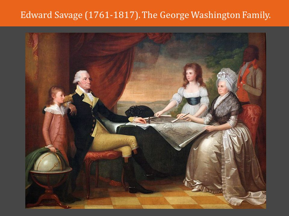 Edward Savage ( ). The George Washington Family.