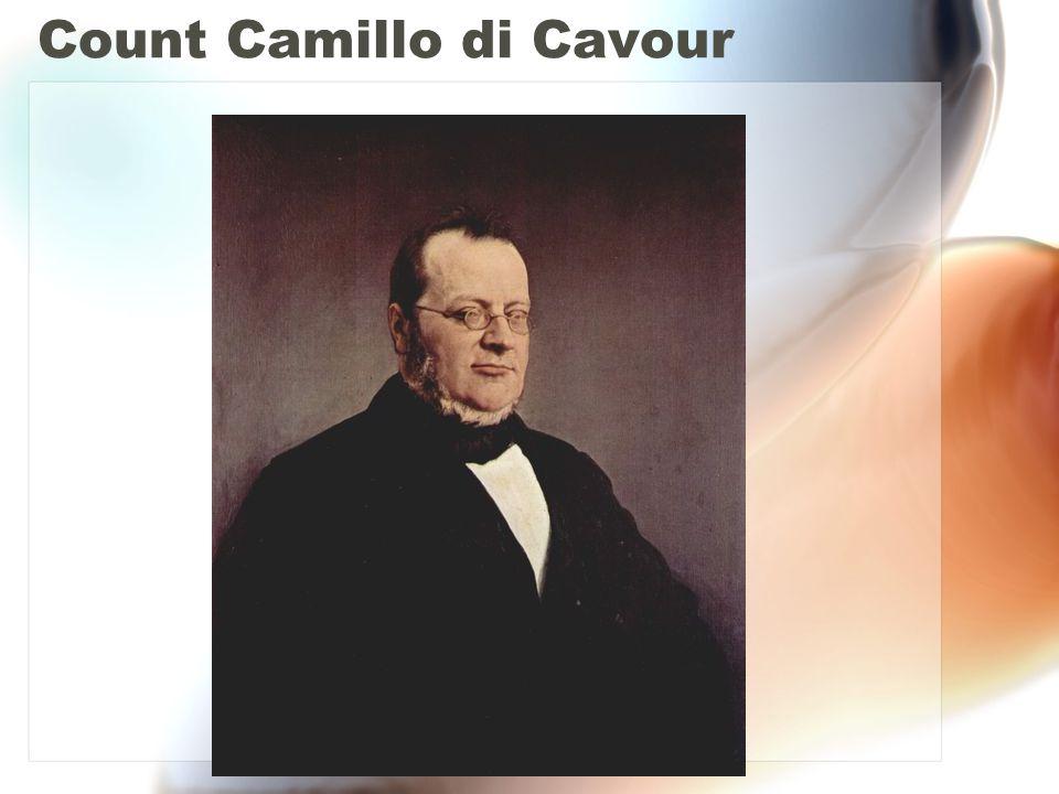 Count Camillo di Cavour