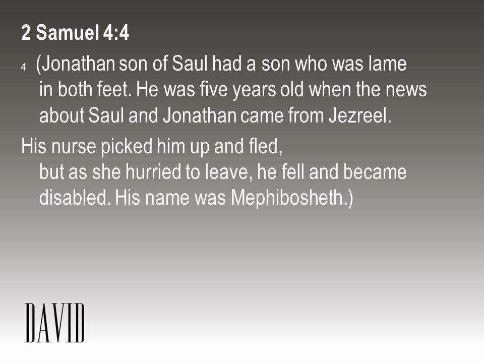 2 Samuel 4:4