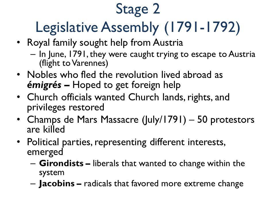 Stage 2 Legislative Assembly (1791-1792)