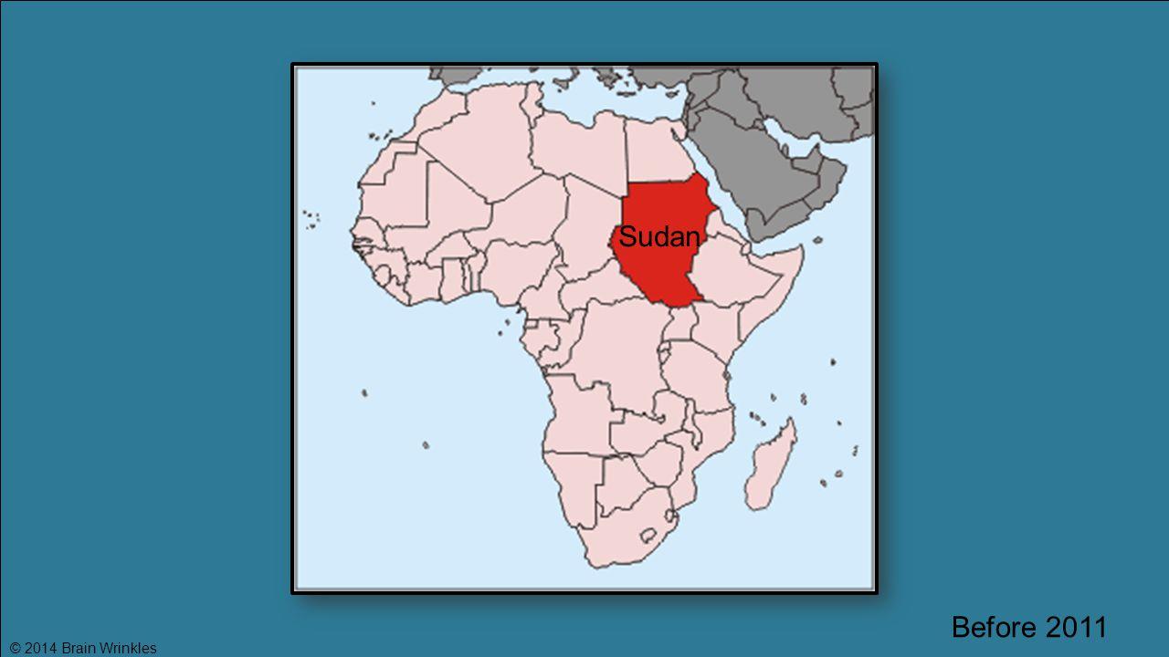 Sudan Before 2011 © 2014 Brain Wrinkles