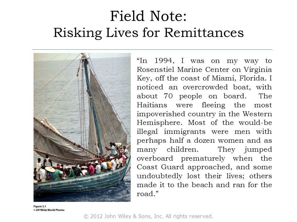 Field Note: Risking Lives for Remittances