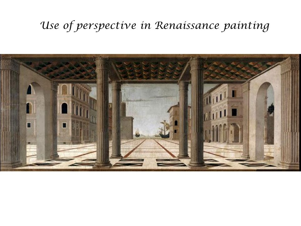 Use of perspective in Renaissance painting