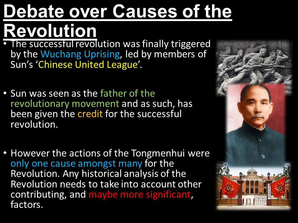Debate over Causes of the Revolution