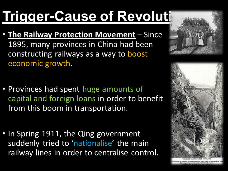 Trigger-Cause of Revolution